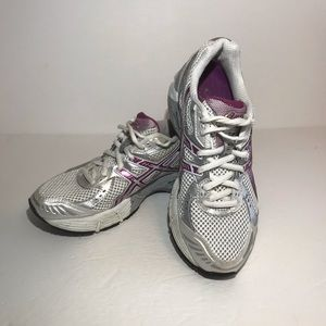 ASICS Gel 1150 Running Shoes Women 7.5 Gray Purple